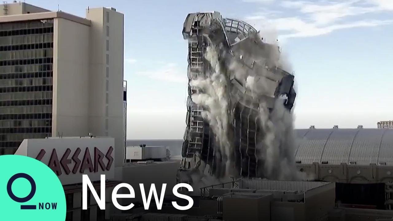 Here's what the Trump Plaza implosion looked like from all around ...