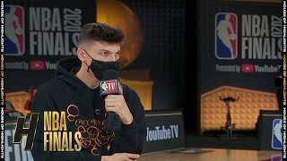 Tyler Herro Full Interview - Game 2 Preview | Lakers vs Heat | 2020 NBA Finals