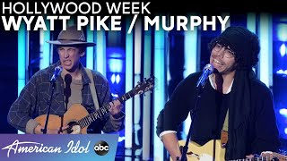 Uniquely Them! Wyatt Pike And Murphy Embrace Their Individualism! - American Idol 2021
