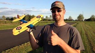 john s flight review of gblynden s e flite umx pt 17 stearman