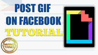 Post GIF on Facebook Tutorial