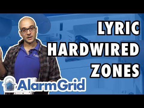 Hardwired Zones on a Lyric Security System