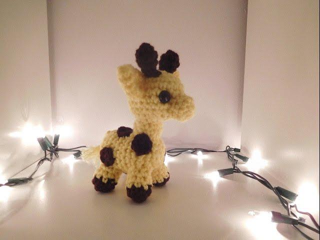 April's Baby: Giraffe Bookmark Amigurumi Crochet Pattern | 480x640