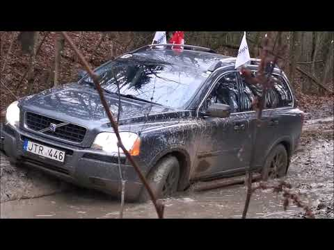 Volvo XC90 Offroad. Volvo XC90 In Mud. Volvo AWD Test.