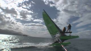 Yvan Bourgnon - Passage du Cap Horn en catamaran de sport - Trailer