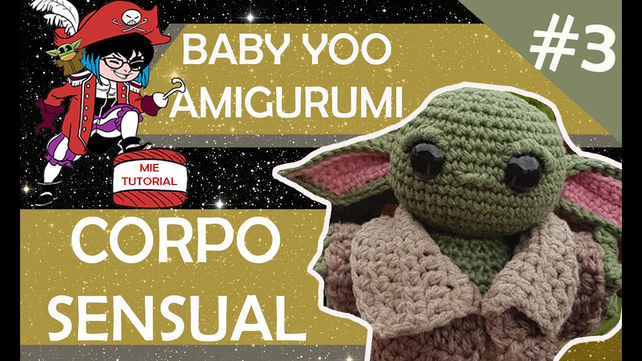Boca Yoda baby amigurumi - YouTube | 720x1280