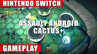 Assault Android Cactus+ Nintendo Switch Gameplay