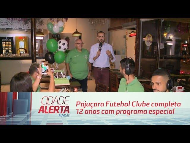 Futebol: Pajuçara Futebol Clube completa 12 anos com programa especial