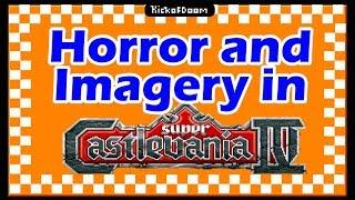 Horror Imagery Falls Flat in Super Castlevania IV | kickofdoom