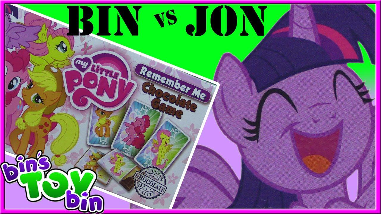 Bin Vs Jon My Little Pony Remember Me Chocolate Memory