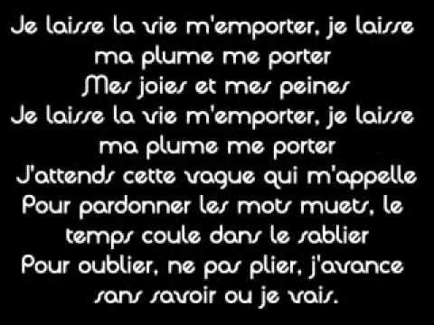 les paroles de zaho tourner la page
