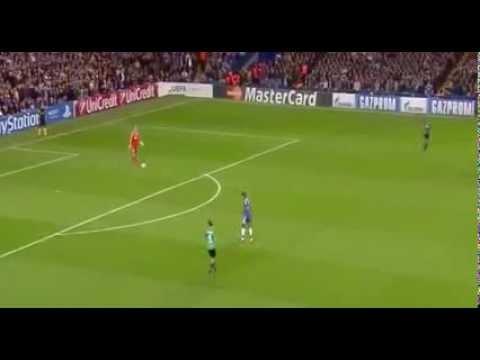 Funny Goal Samuel Eto vs Fail Timo Hildebrand Chelsea vs Schalke 1:0 06.11.2013