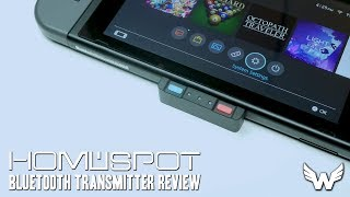 THE BEST NINTENDO SWITCH BLUETOOTH ADAPTER?! | HomeSpot Bluetooth Transmitter Review