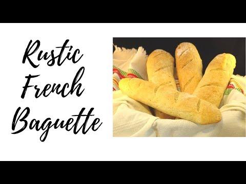 French Bread Baguette Recipe