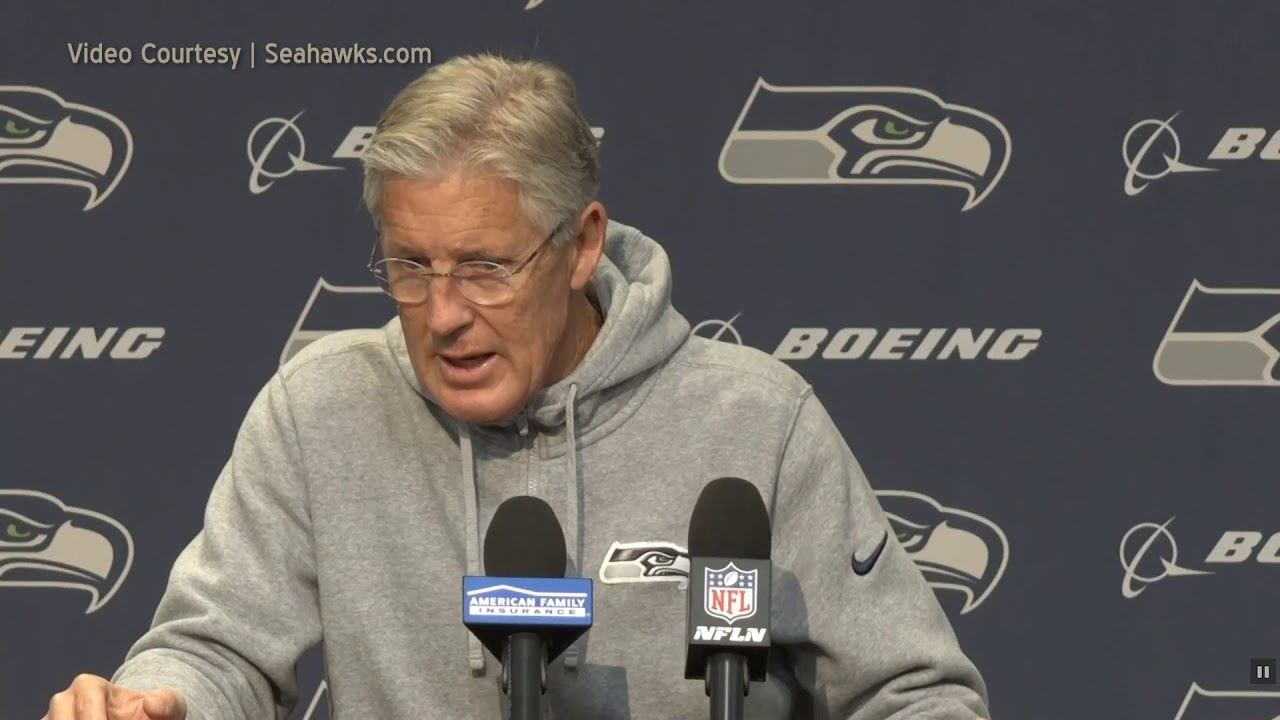 Pete Carroll on Field Position Game 2019-11-25
