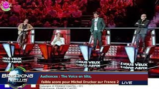 Audiences : The Voice en tête,  faible score pour Michel Drucker sur France 2