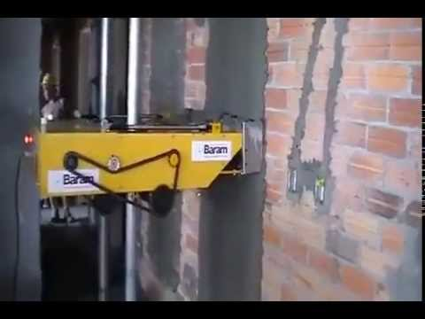 Maquina para aplanar pared youtube - Instalacion de pladur en paredes ...