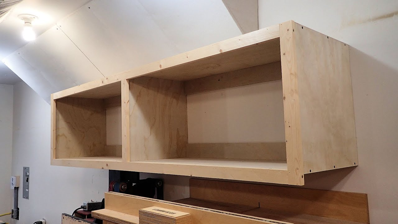 Wall Mounted Storage Cabinet In One day - YouTube