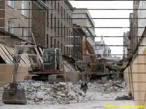 Diaporama: démolition du mail Centre-Ville (phase II)