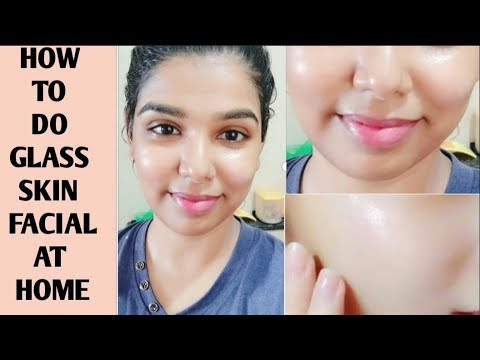 Glass Skin Facial | how to get flawless glowing skin in tamil | tan facial tamil |