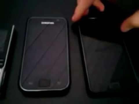 Samsung Handys Im Test ( M200 vs. Galaxy S vs. Galaxy S2)