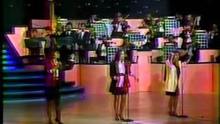 """Pandora - """"Los amantes"""" en Festival OTI 1987"""