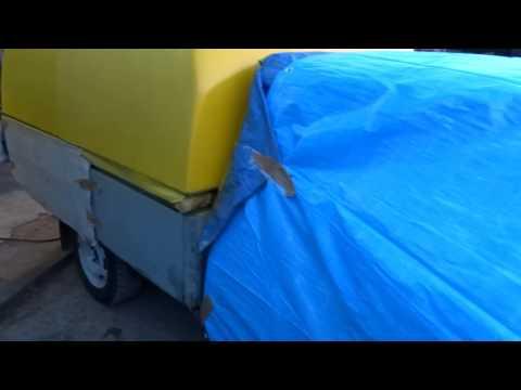 ВАЗ-ВИС 2345 покраска кунга кузова в RAPTOR U-POL