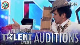 Pilipinas Got Talent 2018 Auditions: James Narvaez - Stage Magic