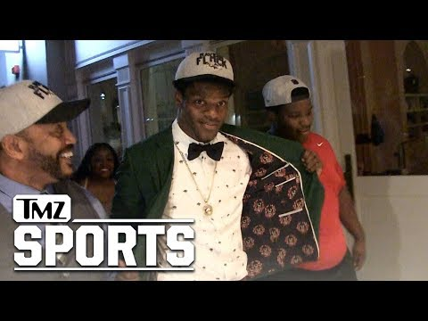 Lamar Jackson: I'm Excited to Learn from RG3 | TMZ Sports