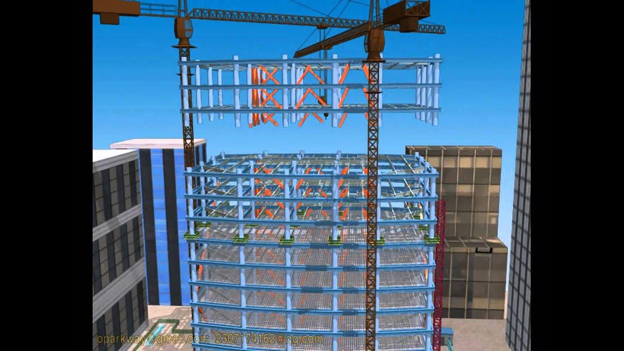 3d Building Construction Animation China 3d Design