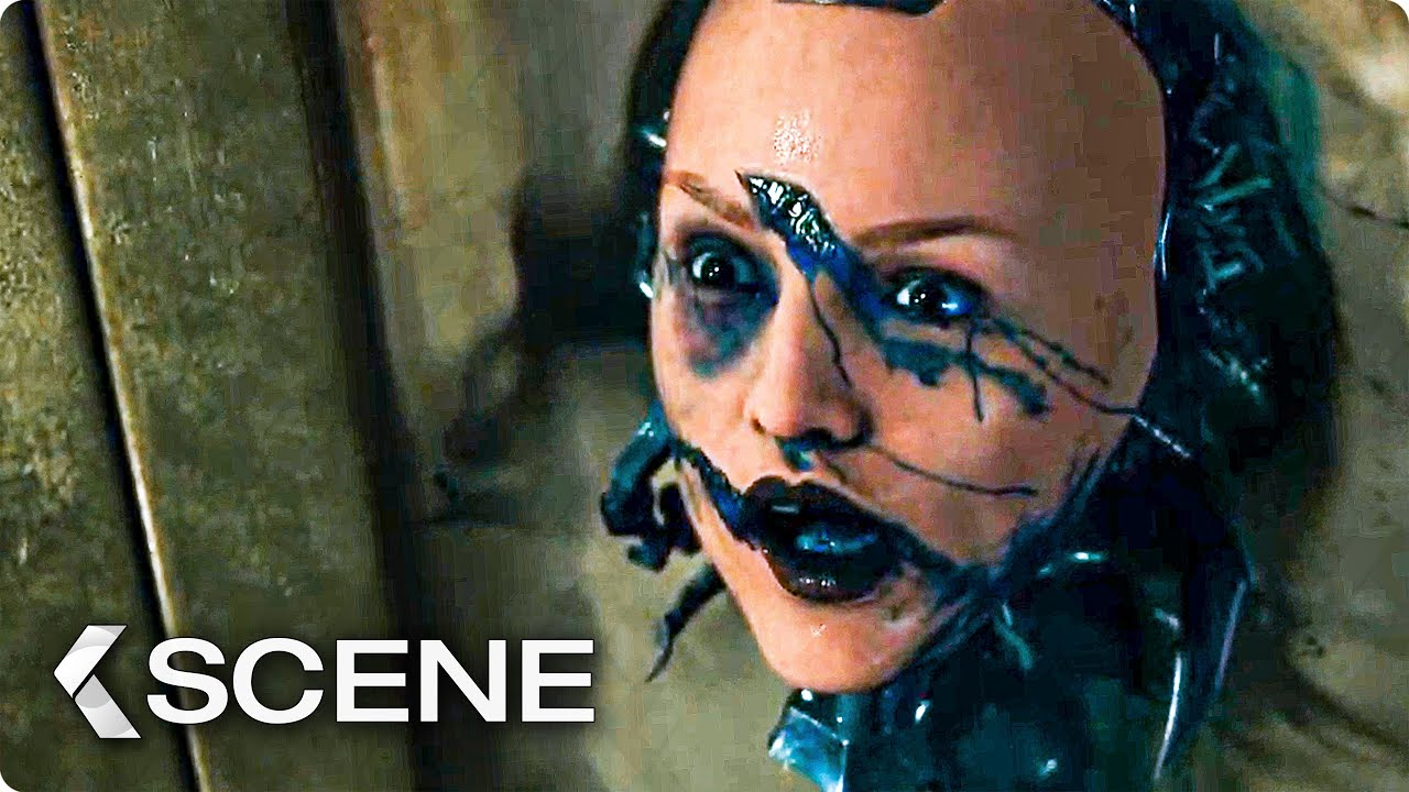 Download Alita vs Androids Fight in the Valley Extended Movie Clip - Alita: Battle Angel (2019)
