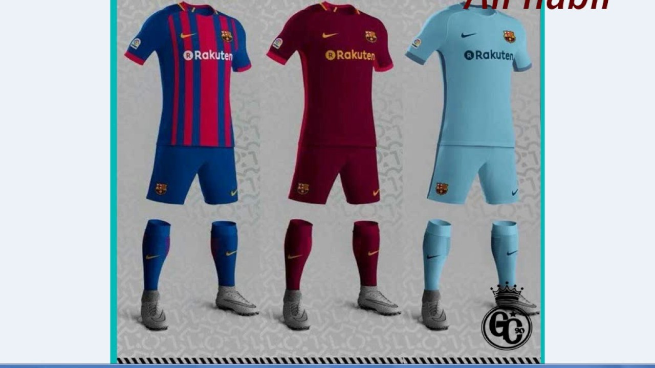 huge selection of 834b7 83ce5 fc barcelona uniform 2018
