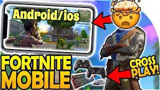 How to download FORTNITE for Android/Ios || si te instalojm fortnite ne telefon