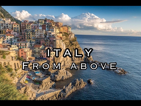 ITALY FROM ABOVE: TOUR 2016: CINQUE TERRE, FLORENCE, PAIVA AND MORE...BY DRONE TRAVEL