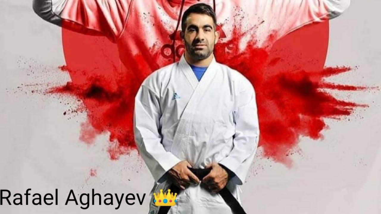 EKF Senior Championship 2021 ,Rafael Aghayev vs Noah Bisch , Male Kumite -75 KG , European karate.