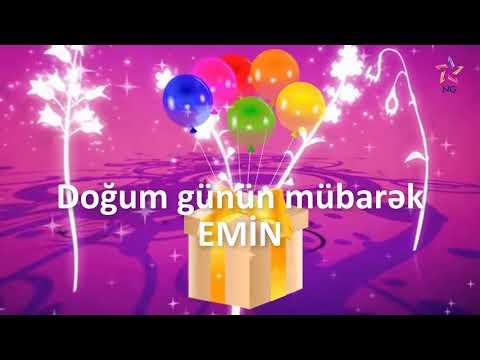 Doğum günü videosu - EMİN