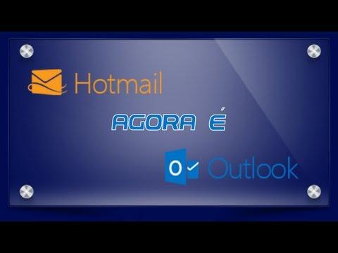 Hotmail.com agora é Outlook.com