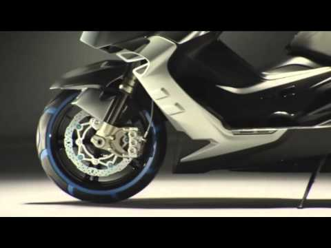 BMW Concept C scooter - YouTube