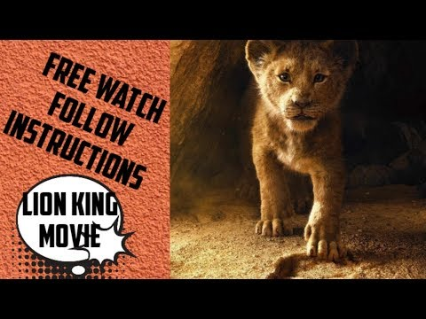 Lion king movie found a free app that lets you watch free