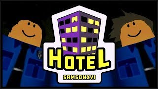 NIGHT AT THE GLOOMO HOTEL | Roblox Hotel Story (Scary)