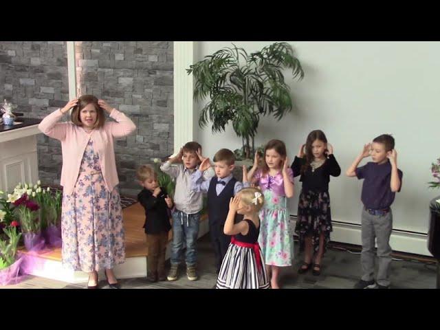 Junior Church Choir Easter Service