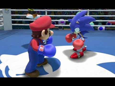 Mario & Sonic at the Rio 2016 Olympic Games - Sonic League (Unlocking Super Sonic Costume)