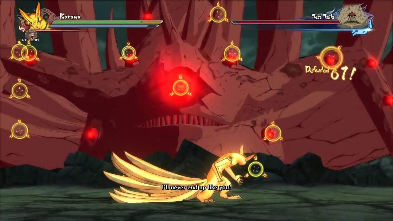 Naruto Shippuden Ultimate Ninja Storm 4 - Kurama vs Ten ...