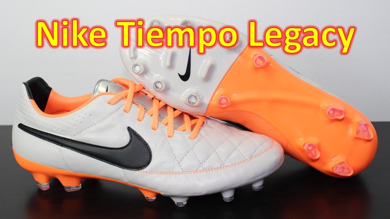 ef4efcf97732 Nike Tiempo Legacy Desert Sand Atomic Orange - Unboxing + On Feet ...