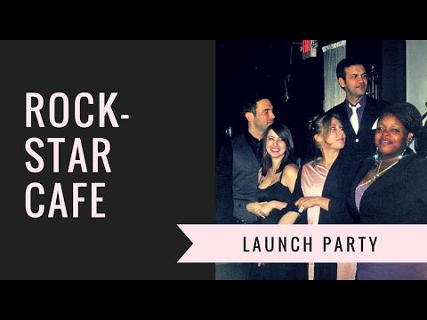 Rock-Star Cafe Launch Party (with Royale Mosley)
