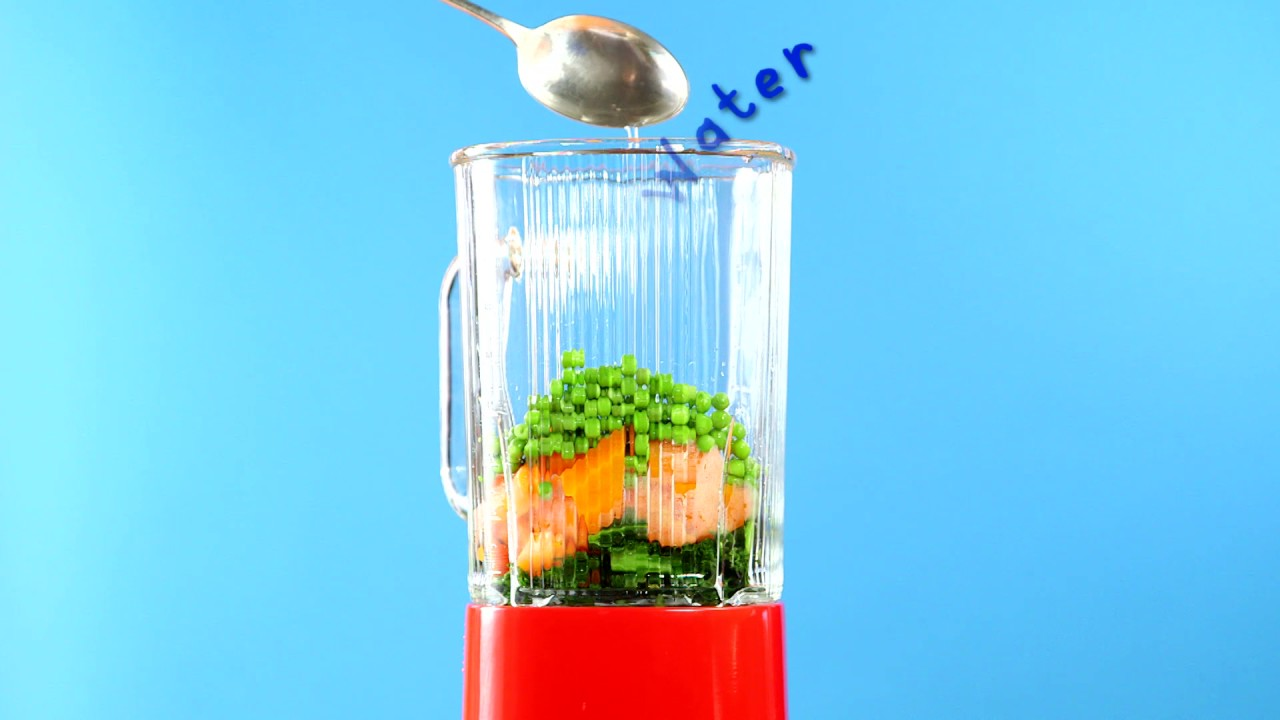 Love Veg - Carrots, Peas + Kale - Ella\'s Kitchen - YouTube