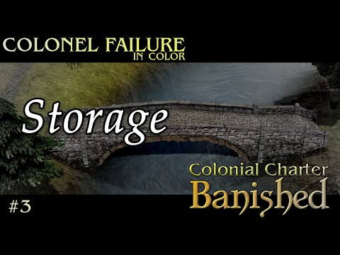 Banished Colonial Charter Mod #3 : Preparing for growth