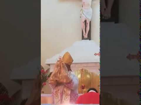 வவுனியா அந்தோனியார் ஆலயத்தில் சிற்பபாக இடம்பெற்ற திருப்பலி பூஜைகள்