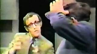 Woody Allen vs William Buckley - FUNNY