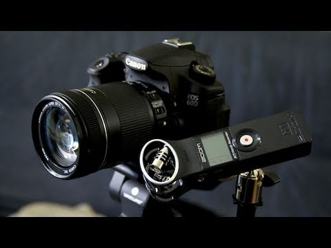 My Video Setup: Canon 60D + Zoom H1 = Win